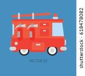 plain flat vector color icon... | Shutterstock .eps vector #618478082