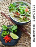 spicy vegetarian rice noodle  ...
