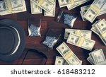 illegal business drugs and... | Shutterstock . vector #618483212