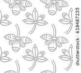 seamless vector pattern with...   Shutterstock .eps vector #618487235