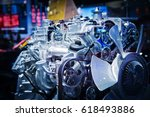 the car engine  engine  car... | Shutterstock . vector #618493886
