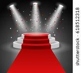 podium winners. illustration | Shutterstock . vector #618512318