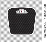 weight scale  vector... | Shutterstock .eps vector #618531308
