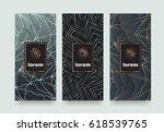 vector set packaging templates... | Shutterstock .eps vector #618539765