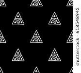 seamless vector pattern. black...   Shutterstock .eps vector #618548942