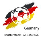 football icon germany | Shutterstock .eps vector #618550466