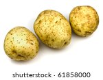Golden Delight Potatoes - stock photo