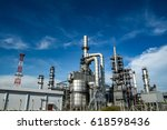 close up industrial view a... | Shutterstock . vector #618598436