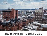 view of buildings in center... | Shutterstock . vector #618663236