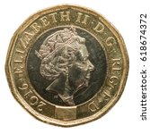 New British Pound Coin  2017...