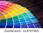 Color palette guide of paint...