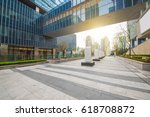 windows of skyscraper business... | Shutterstock . vector #618708872