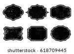 vector vintage labels.set of...   Shutterstock .eps vector #618709445