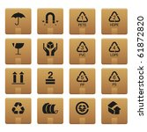 01packaging icons professional... | Shutterstock .eps vector #61872820