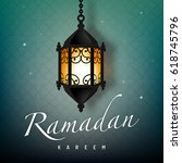 ramadan graphic background | Shutterstock .eps vector #618745796