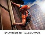 amsterdam  netherlands   march  ... | Shutterstock . vector #618809906