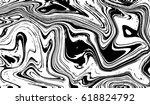 black and white marbling... | Shutterstock .eps vector #618824792