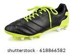 Single Black Leather Football...