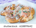 Sweet Bird Shaped Biscuit With...