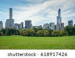 new york  usa   august 25  2016 ... | Shutterstock . vector #618917426