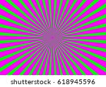 vector striped abstract... | Shutterstock .eps vector #618945596