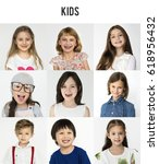 people set of diversity...   Shutterstock . vector #618956432