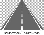 road  street with asphalt.... | Shutterstock .eps vector #618980936