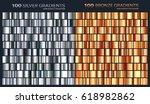 silver bronze gradient pattern... | Shutterstock .eps vector #618982862