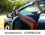 cabriolet | Shutterstock . vector #618986318