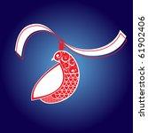 christmas hen | Shutterstock .eps vector #61902406