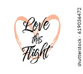 love this flight. beautiful... | Shutterstock .eps vector #619036472