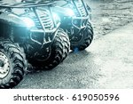 Quad Bikes With Glowing...