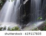 water fall | Shutterstock . vector #619117835