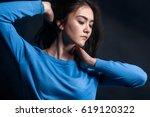 fashion woman  beautiful | Shutterstock . vector #619120322