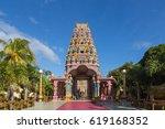 kalaisson temple port louis... | Shutterstock . vector #619168352