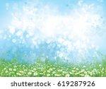 vector  nature  background ... | Shutterstock .eps vector #619287926