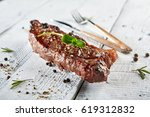 restaurant grilled food  ...   Shutterstock . vector #619312832