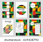 abstract vector layout... | Shutterstock .eps vector #619328792