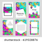 abstract vector layout... | Shutterstock .eps vector #619328876