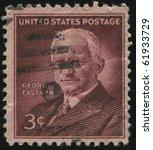 united states   circa 1954 ... | Shutterstock . vector #61933729