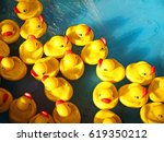Rubber Ducks In A Children's...