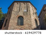 baptistery of neon is the most... | Shutterstock . vector #619429778
