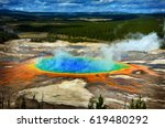 Grand Prismatic Pool At...