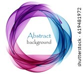 abstract background with... | Shutterstock .eps vector #619481972
