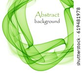abstract background with green... | Shutterstock .eps vector #619481978
