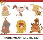 cartoon vector illustration of... | Shutterstock .eps vector #619487132