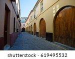 Quiet Narrow Street With...