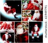 New Year Theme  Santa Claus And ...