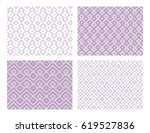 collection of four geometric... | Shutterstock .eps vector #619527836