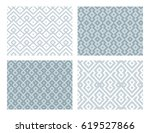 collection of four geometric... | Shutterstock .eps vector #619527866